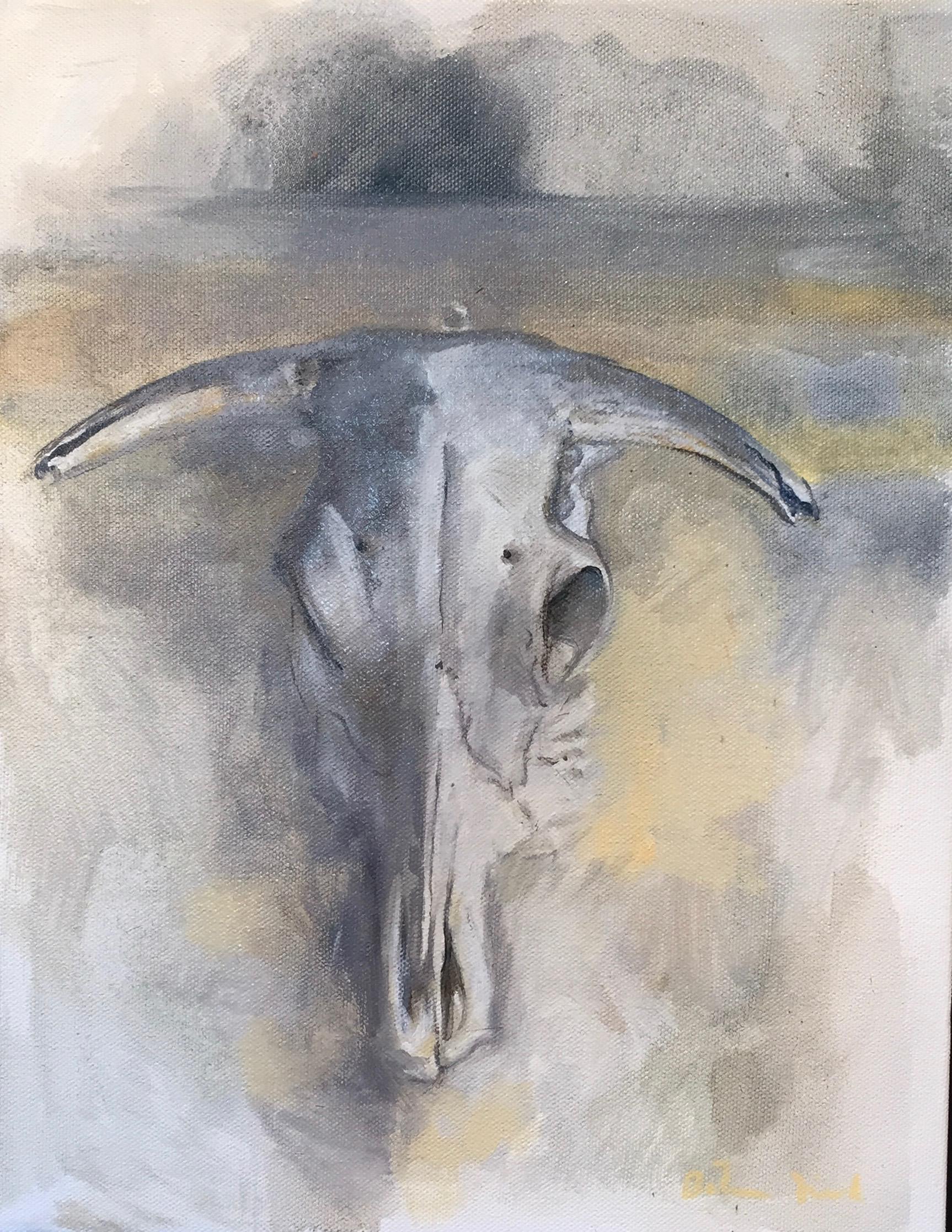 Capitulum Morte Series; oil:canvas; 14 x 11; $400