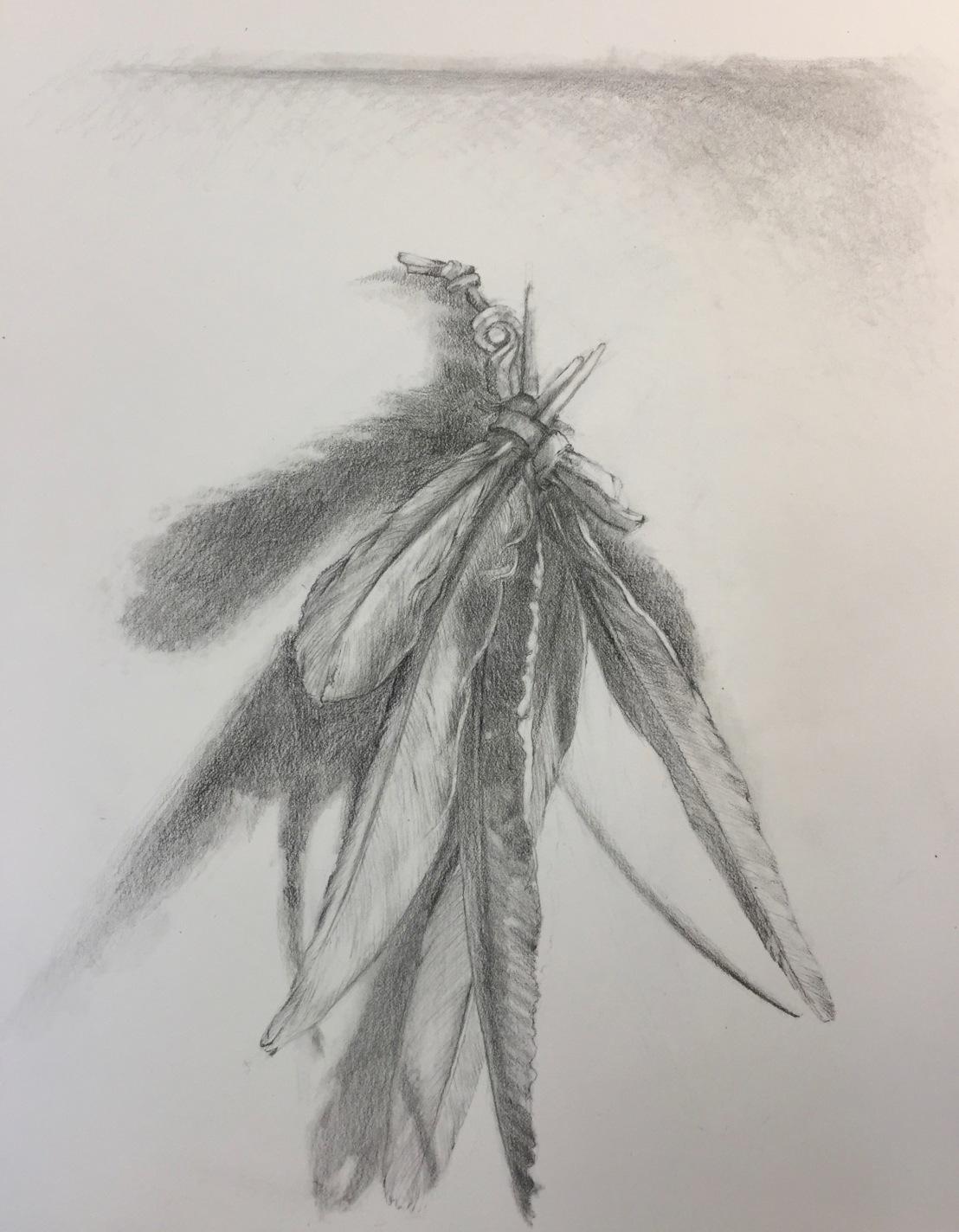 Celestial Wisdom Series, graphite